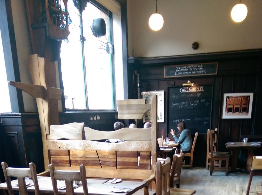 Cafe Gandolfi in the Merchant City