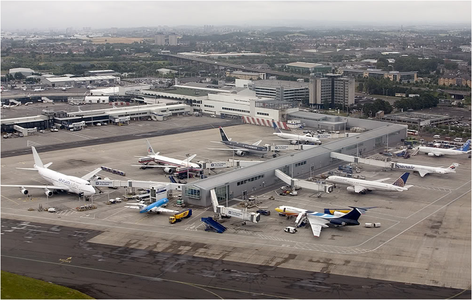 glasgow airport The glasgow airport investment area has the potential to become a powerhouse  of economic growth for renfrewshire and the glasgow city region being.