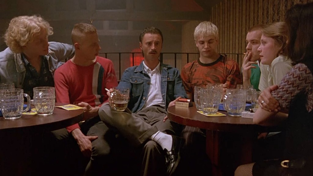 A Glasgow pub stood in for Leith in this memorable scene  in Trainspotting