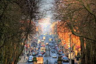 Victoria Road from Queens Park (image by Graeme Maclean used under Creative Commons licence)