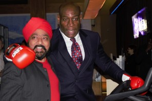 Frank Bruno launches charity bike ride from Glasgow to Las Vegas