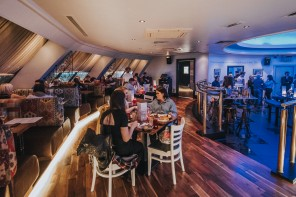 First Look: Top floor views from Mezze at the Rotunda