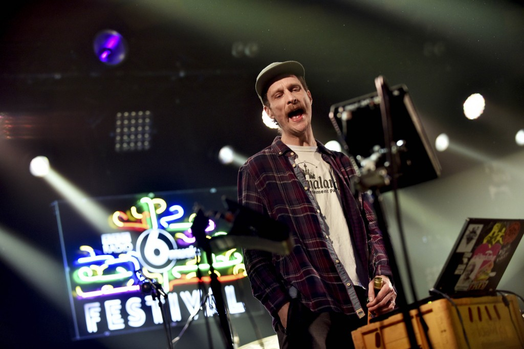 Programme Name: 6 Music Festival 2017 - TX: 24/03/2017 - Episode: Friday (No. n/a) - Picture Shows: perform at Barrowlands Sleaford Mods - (C) BBC - Photographer: Sarah Jeynes