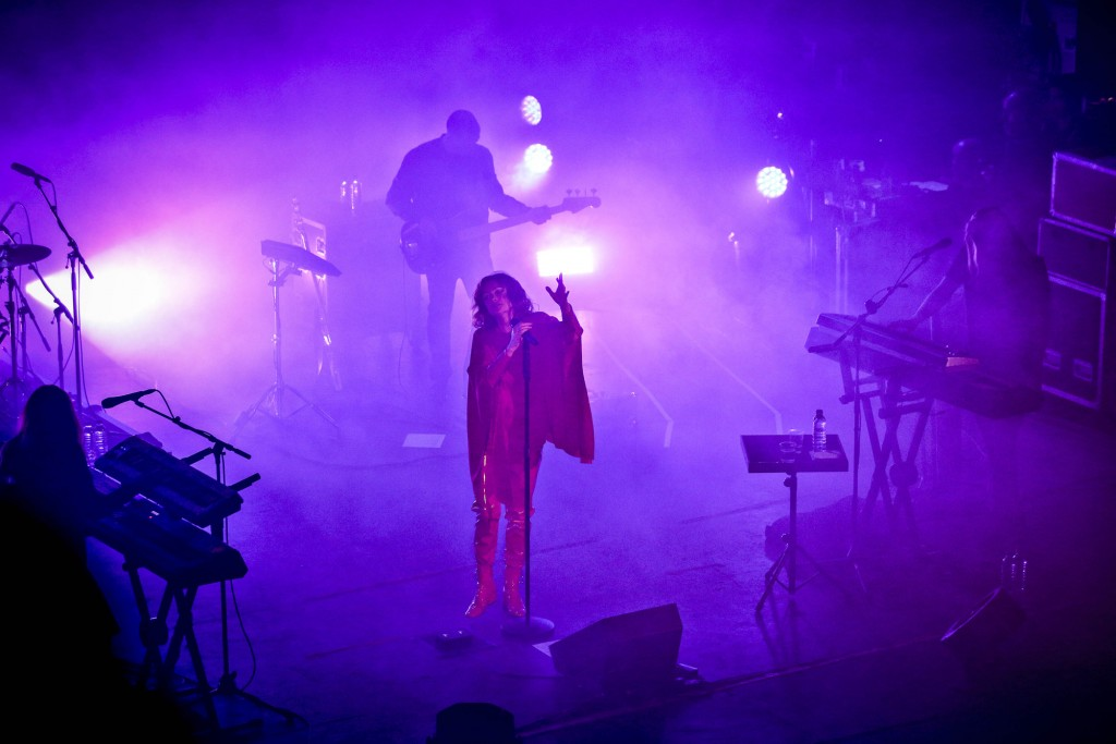 Programme Name: 6 Music Festival 2017 - TX: 24/03/2017 - Episode: Friday (No. n/a) - Picture Shows: performs at O2 Academy Goldfrapp - (C) BBC - Photographer: Tricia Yourkevich