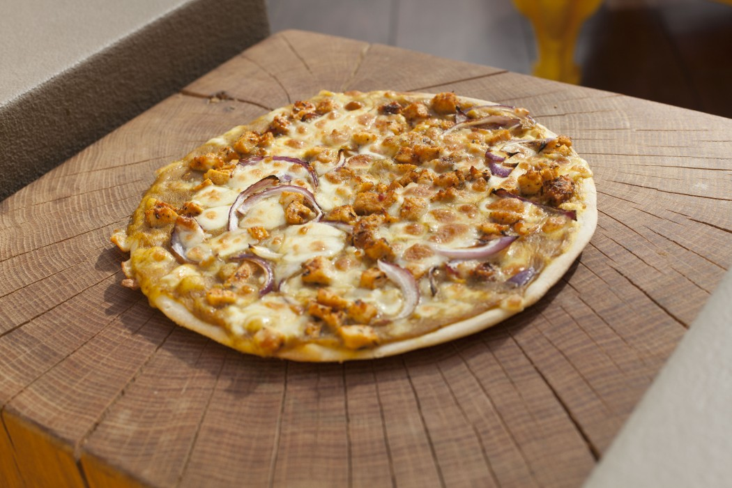 St Enoch Centre Di Maggio's curry pizza