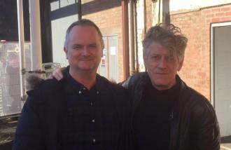 Ken Sweeney with Paul Buchanan