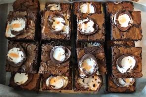 creme agg brownie