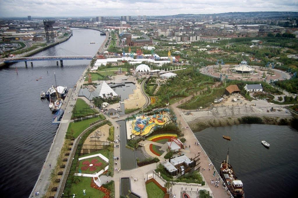 The Glasgow Garden Festival site