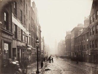 """Thomas Annan, """"High Street, from College Open"""" (1868-71), (Canadian Centre for Architecture, Montreal)"""