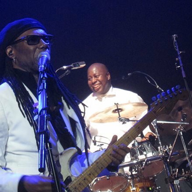Nile Rodgers and Ralph Rolle
