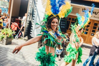 Electricat Samba Dancers