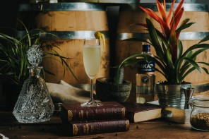 Glasgowist Cocktail Recipe: Makar Gin French 75