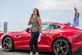 Lee McKenzie will host the live track action at Ignition featuring historic F1, rally, bikes and supercars