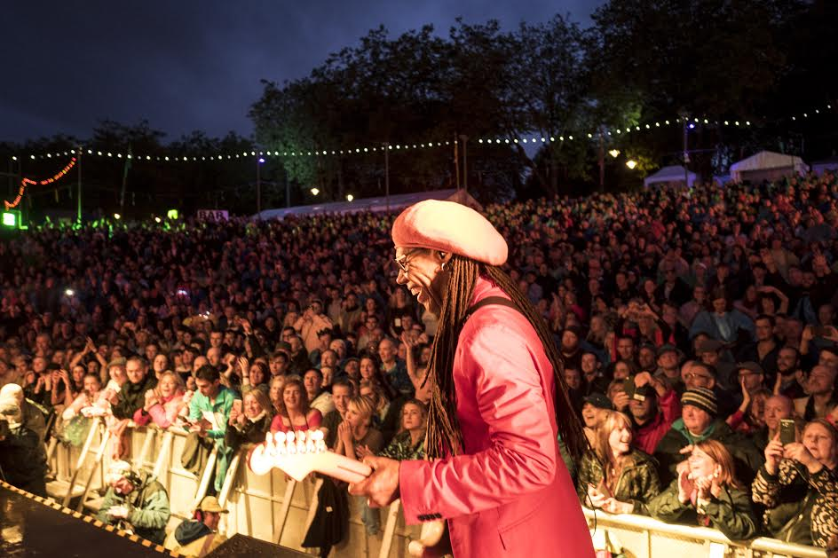 Nile Rodgers at West End Fiesta