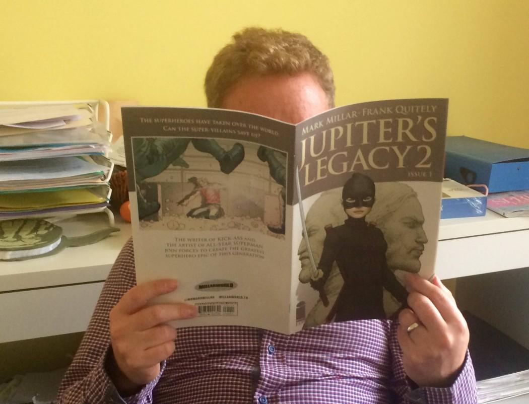 Mark Millar reading