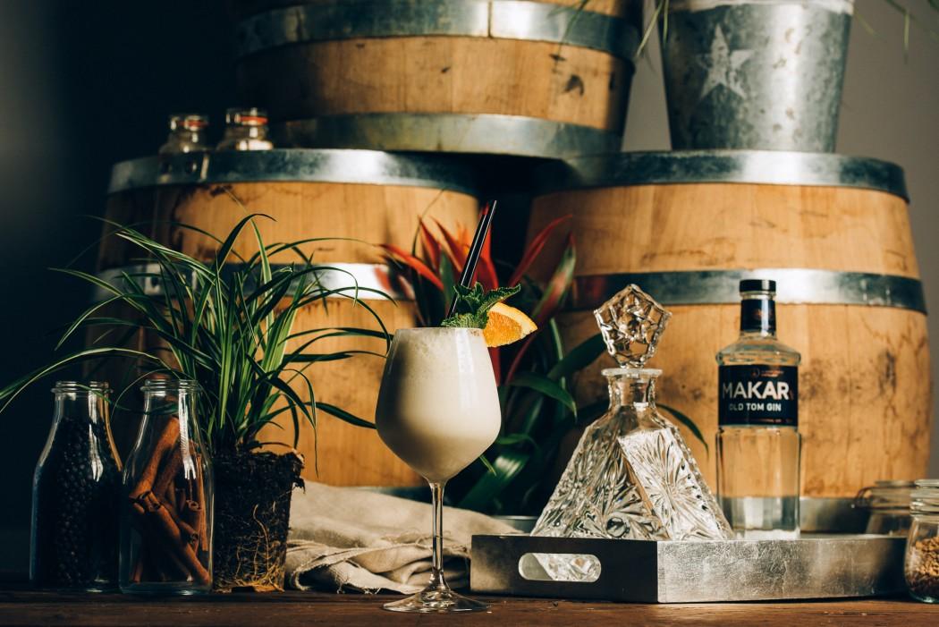 Makar New Orleans Gin Fizz