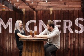 Magners and Malones open Glasgow's first cider rooftop garden