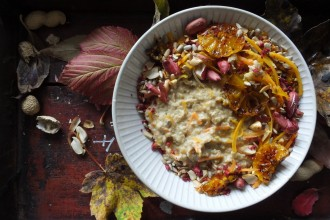 Pumpkin Spiced Porridge (Pic: Linsey Reith)