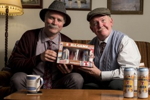Still Game's Jack and Victor are new Tennent's Lager Lovelies