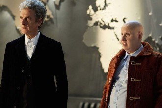 Peter Capaldi and Matt Lucas in Doctor Who