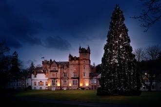 Cameron House Christmas lights