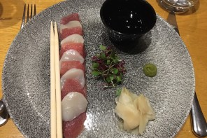 Best Dishes #19: Sashimi of yellowfin tuna at Gamba