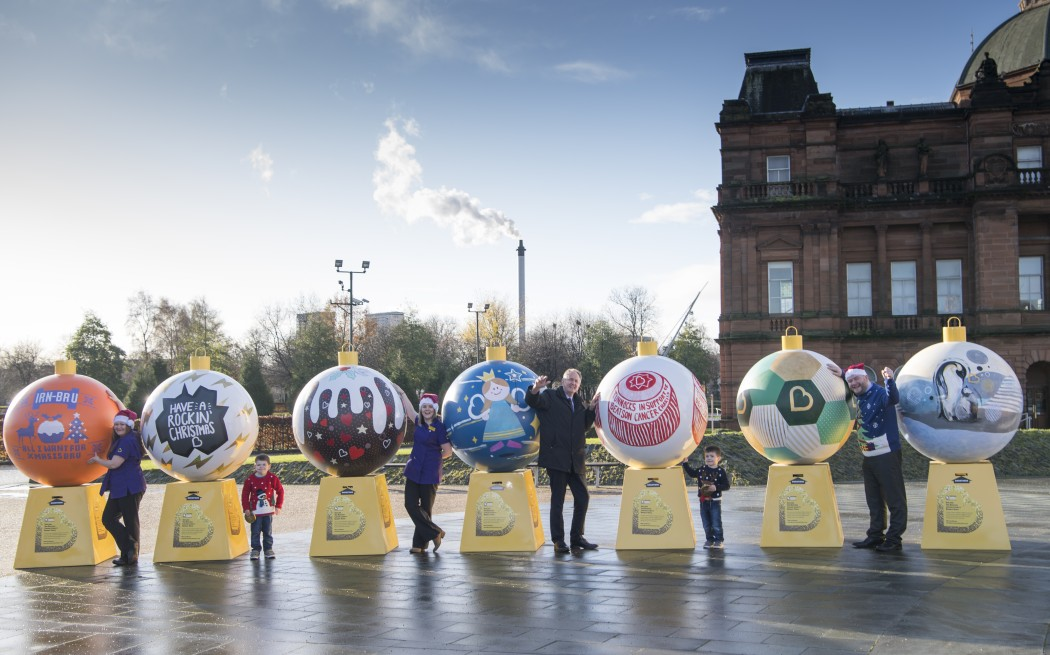 Beatson Cancer Charity's Bauble Appeal