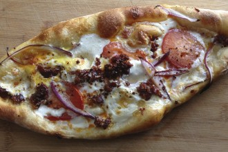 Pide, which may look something like this, will be on the menu