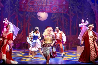 Elaine C Smith and cast of Sleeping Beauty
