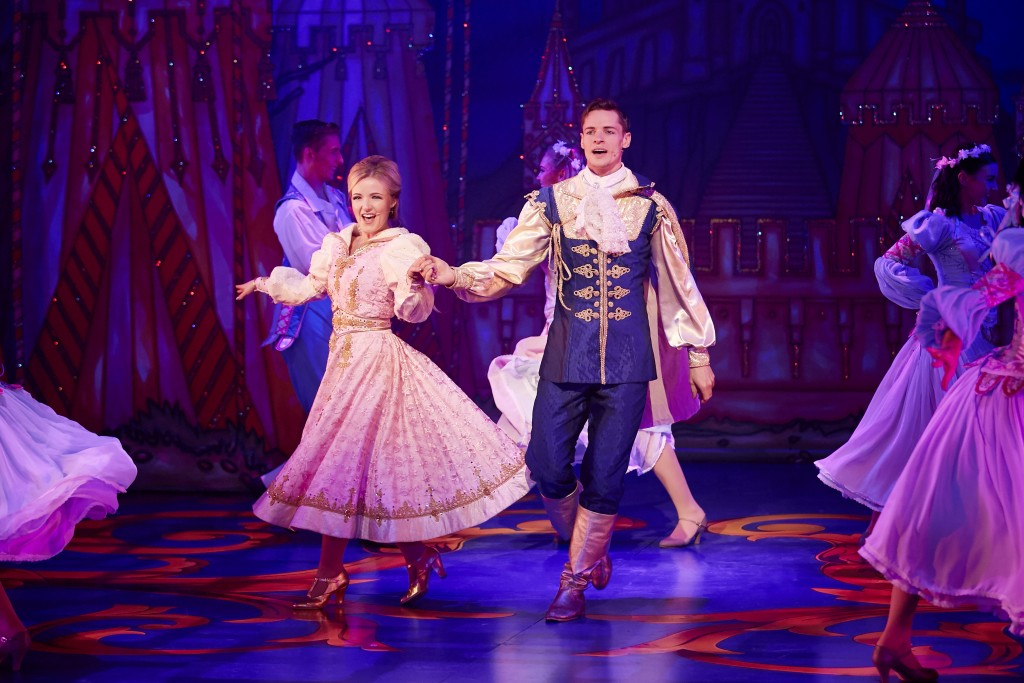 Maggie Lynn and Will Knights in Sleeping Beauty