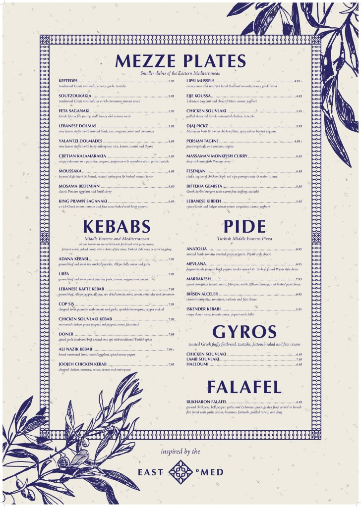 Food Menu (Design by  IBDP)