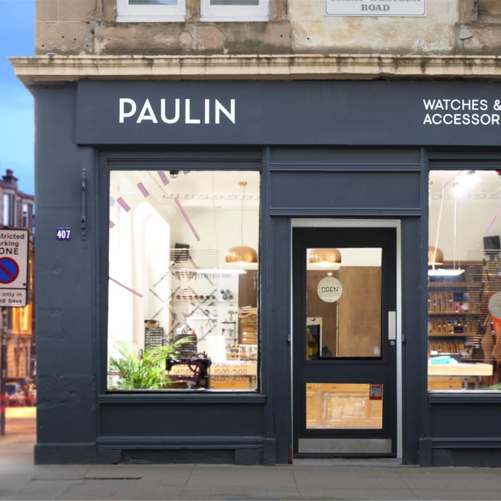 Paulin shop outside copy