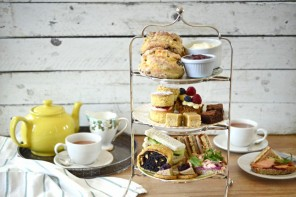 A Festive Afternoon Tea at Three Sisters Bake