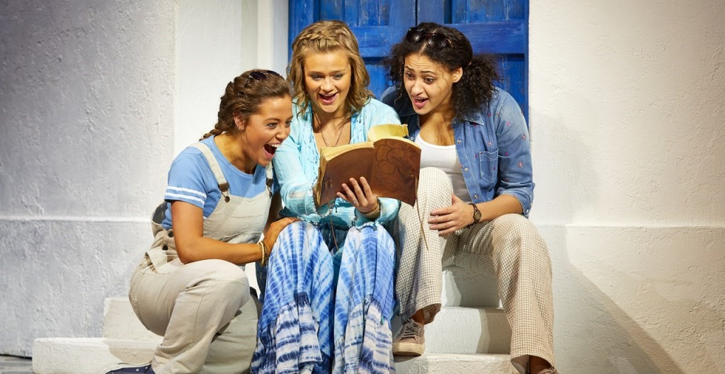 theatre review mamma mia Review of mamma mia at novello theatre london west end an evening of fun and campness that had the whole audience up and dancing by the end.