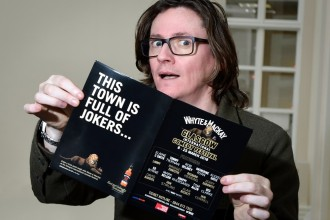 Ed Byrne, Whyte & Mackay Glasgow International Comedy Festival 2018 photo credit Steve Ullathorne