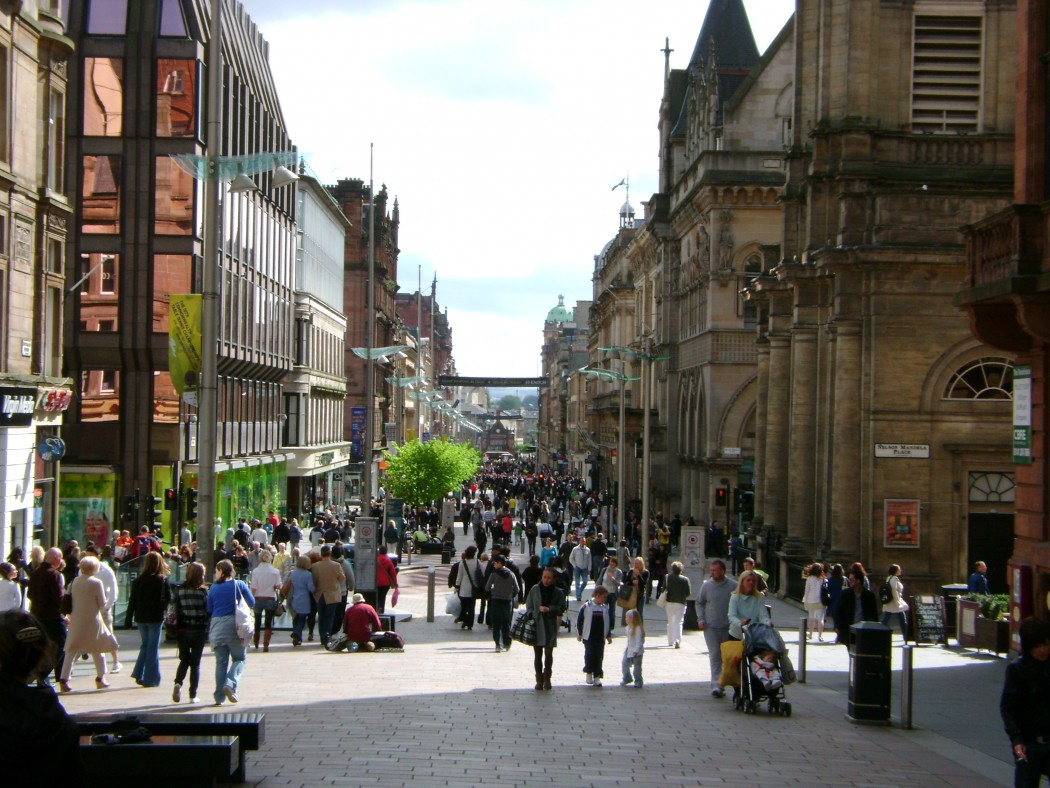 Nearly half of Glasgow city centre's children are living in poverty