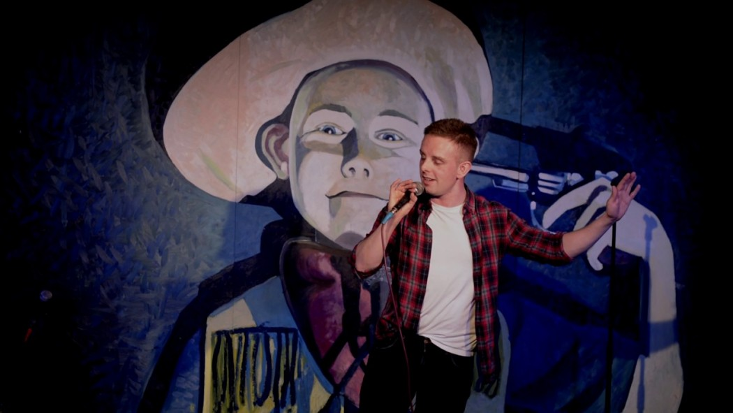 Comedian Jamie Dalgliesh