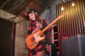 Interview: Stina Tweeddale from Honeyblood at Sailor Jerry's Open House