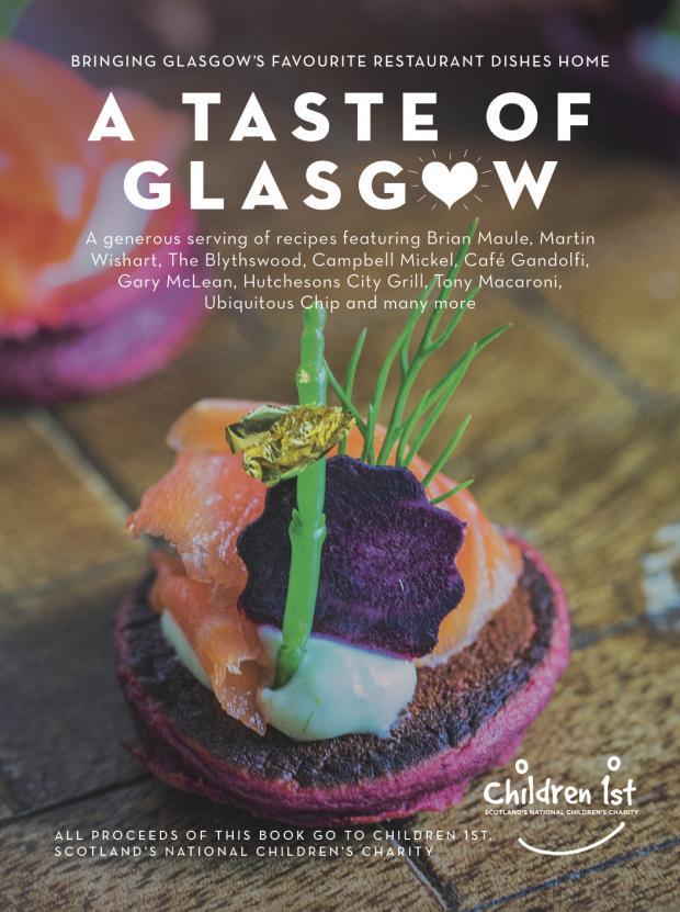 Taste of Glasgow book cover Jan 2018