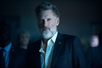 """DF-08685r - Bill Pullman reprises his """"Independence Day"""" role of Thomas Whitmore. Photo Credit: Claudette Barius."""