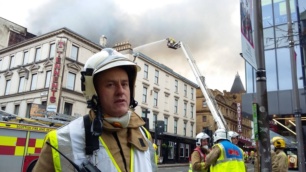 Glasgow city-centre fire prompts asbestos warning to residents