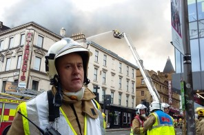 More than 30 firefighters remain at the scene of major Sauchiehall Street fire