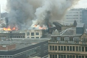 In Pictures: Major fire engulfs buildings on Sauchiehall Street