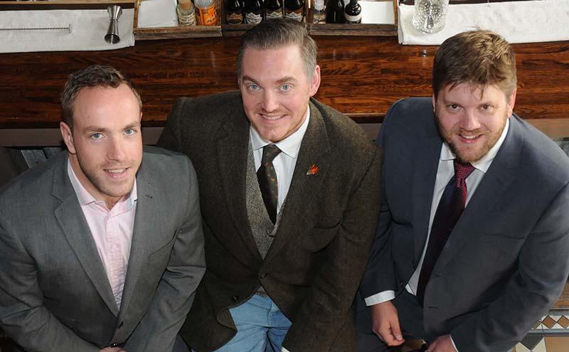Kained Directors L-R. Mo Clark, Graham Suttle & Scott Arnot