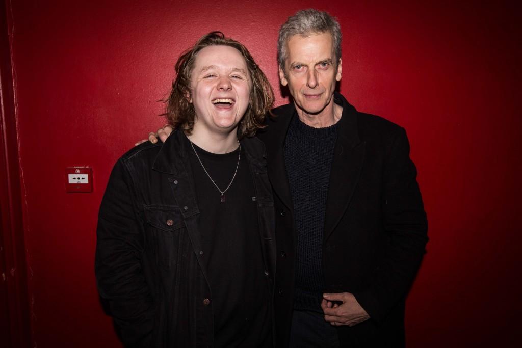 LC & Peter Capaldi ©NickyKelvin