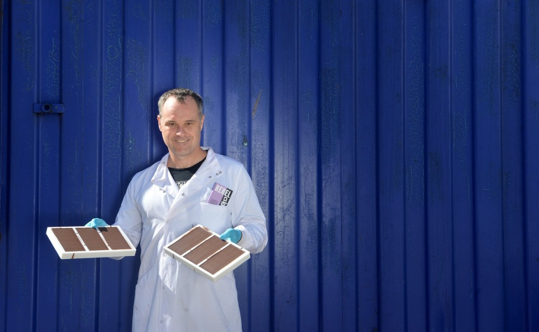 Dr Neil Robson, the brains behind Rebel Chocolate  Pic: Julie Howden