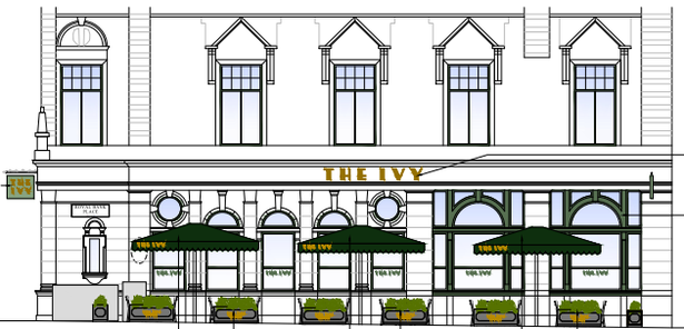 Plans for the new restaurant include outdoor seating
