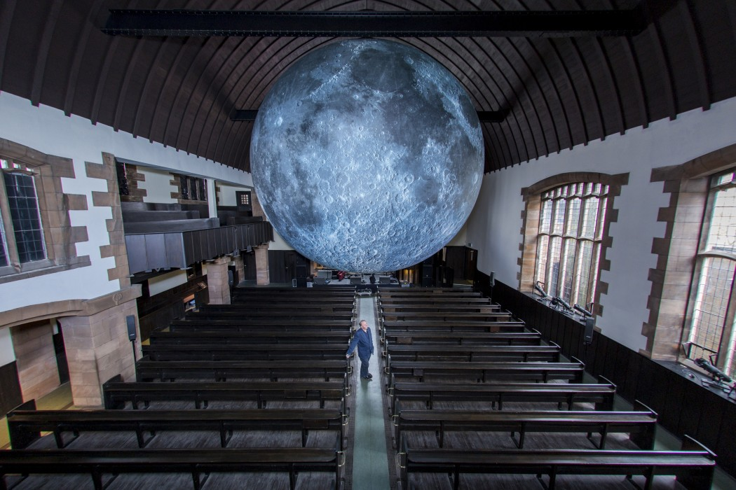 Museum Of The Moon Artwork Unveiled At The Mackintosh