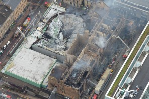 Glasgow School of Art extensively damaged in major fire