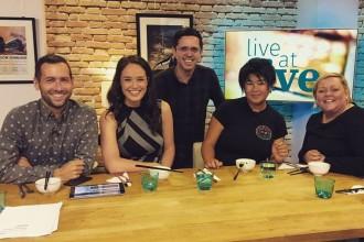 Glasgowist visits Live at Five
